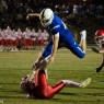 #44 Anthony Dandini leaping