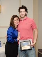 Antonio with Mom LBDFC Board member Sue Centofanti