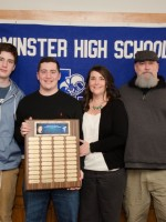 Dylan Nadeau with family