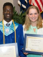 Jeremy Nartey and Kristi Anderson