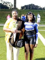 Nancy Amankwah w/Advisor Mrs. Perkins