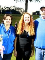 Taylor Brown w/Parents Audra & Scott Brown
