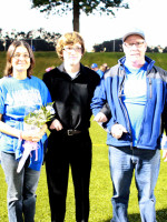 Jevin Corrado w/Parents Sheila & Paul Corrado
