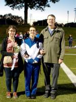 Emily Schaffter w/Parents Lisa & Rob Schaffter