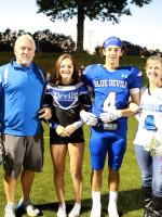 #4 Dominic Fusco w/ Parents Kerri & Michael Fusco, Sister Angela