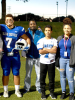 #7 Dylan Ranno Tanner w/Angelique ranno, Darenson Alexis and Brother Tyrell. Kaylee and Taisha