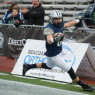 Sophomore Neil OÕConnor leads the University of New Hampshire with 596 receiving yards and five touchdown catches. The Wildcats will open the FCS playoffs on Saturday against Lehigh. UNIVERSITY OF NEW HAMPSHIRE / CHINA WONG