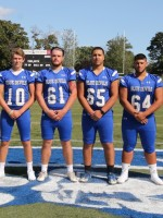 2017 Captains (L-R) Mike Viola, Pat Gallagher, Lucas Lashua, Cristian Nunez, Zach Khallady, Connor Marchand