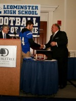 Jack Young receives Ray Comerford award