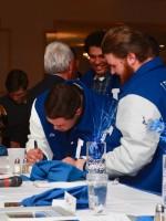 Boys sign framed picture for Jim