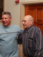 Mario Mez with Jim Lanciani