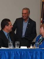 Mayor Dean Mazzarella with Coach Palazzi/AD Cipolla